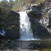 Awosting Falls by Jon Lobsien